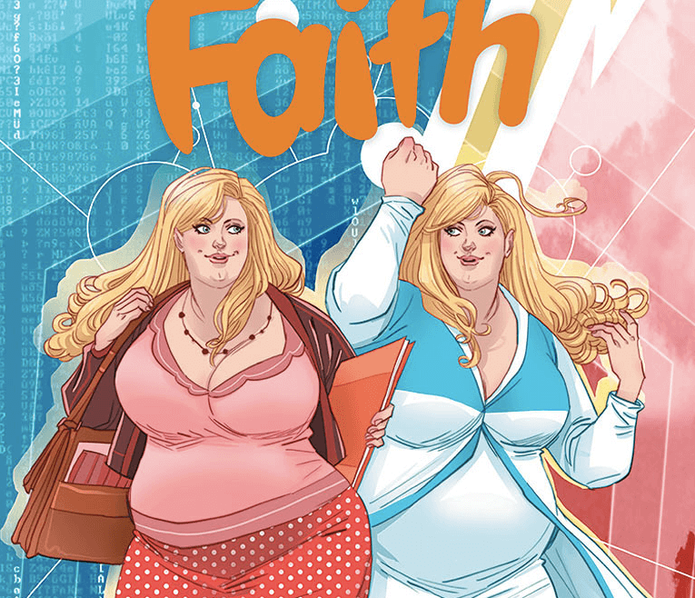 Meet Faith Herbert: The First Plus-Size Superhero